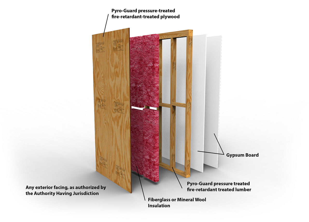 Ul Certifies Proprietary Design With Fire Retardant Treated Wood Hoover Treated Wood Products
